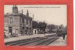 LIANCOURT(60) / CHEMINS DE FER / GARES AVEC TRAINS / La Gare, Arrivée Du Train - Liancourt
