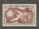 S.P.M.. N° 358 * * T.B. - St.Pierre & Miquelon