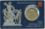 Vatican 50 Cent. Coincard 2012 - Vaticano