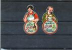 2 Vignettes Allemandes (Théme Alimentaire) (ROTTI) - Erinnofilia