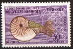 New Hebrides 1963 French Admin. 30c Nautilus MNH SG F117 - New Hebrides
