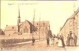 Iseghem 17: Kerk Der Paters Capucienen 1917 - Izegem