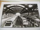 FOTO ELETTROTRENO CISALPINO+ ALTRI A MILANO CENTRALE - Treni