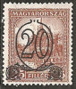Ungheria 1930 MNH**  -  Yv. 438A   Dent. 15 - Ungheria