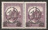 Ungheria 1930 MNH**  -  Yv. 437A   Dent. 15   Coppia - Ungheria