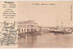 CPA PARAGUAY ASUNCION El Puerto Vapor Steamer Ed Grüter N° 15162 - Paraguay