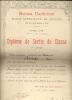 SCHOLA CANTORUM ECOLE SUPERIEURE DE MUSIQUE DIPLOMES 3 PRELOOKER MARIE PARIS - Diploma & School Reports