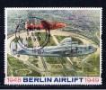 GB Großbritannien 1999 Mi Xx Vignette Berlin Airlift (Lüftbrücke) 1948-49 - Cinderellas