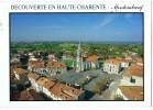 CPM   16            MONTEMBOEUF        VUE AERIENNE SUR LA PLACE ET L EGLISE - Other Municipalities
