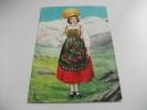 Costume Della Val D'aosta Gressoney Illustratore Colombo - Costumi