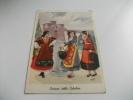 Costume Costumi Delle Calabrie Donne Alla Fonte Vedi Firma Illustratore - Costumi