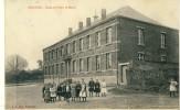 Feignies - Ecole De Filles Et Mairie - 1911 ( Voir Verso ) - Feignies