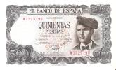 BILLETE DE ESPAÑA DE 500 PTAS DEL 23/07/1971 SERIE W  SIN CIRCULAR-PLANCHA - [ 3] 1936-1975 : Regency Of Franco