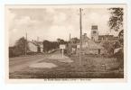 CPA - 45 - Loiret - La Ferté -  Saint - Aubin Saint Aubin :  Entrée De La Ville : Panneaux Publicitaires - église ... - La Ferte Saint Aubin