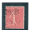Perforé/perfin/lochung France No 199 M.B  Société Des Mines De Houille De Blanzy - Perforadas
