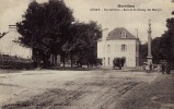 AURAY - Arrivée Du Champ Des Martyrs - ATTELAGE, CHEVAL, COMMERCE, CAFE - CPA - Auray