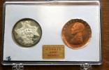 SMOM 1991 - SILVER AND BRONZE COINS 1991 - Malta, Sovr. Mil. Ordine Di
