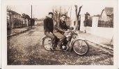 Photo 120 X 70 Mm -Promenade En  MOTO - Sport - Motocyclette - - Motorfietsen