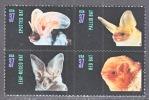 U.S. 3661-64  ** FAUNA   BATS - United States