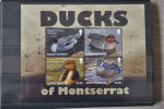 G 137 ++ MONTSERRAT 2012 DUCKS EEND BIRDS OISEAU VOGELS ENTE CANARD  MNH ** - Montserrat
