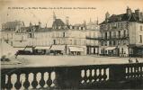 AVALLON - Place Vauban - Nombreuses Devantures - Vue De La Promenade Des Terreaux Vauban -  2 Scans - Avallon