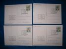 FDC500  -   VATICANO  -  4 CARDS   FDC 10.11.1983  ( CAT. FILAGRANO  C.24 + C.25 ) - Interi Postali