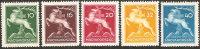 Ungheria 1933 MNH** - Yv. 462/66 - Ungheria