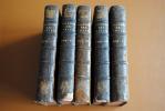 LOT DE 5 LIVRES ANCIENS HISTOIRE DE LA GUERRE DES JUIFS CONTRE LES ROMAINS PAR FLAVIUS JOSEPH 1736 - Lots De Plusieurs Livres