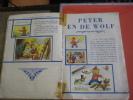 1 Full Compl Set 133 Small & 10 Big, 5 Stories Disneyland, De Beukelaer, Peter &  Wolf, Donkey, In Original Album C1950 - Chocolate