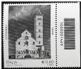 2012 - Cattedrale Di Trani Con Codice A Barre Barcode 1469 Nuovo** Perfetto - 6. 1946-.. Repubblica