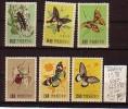 TAIWAN  1958 Butterflies MNH ** Very Fine - Taiwán (Formosa)