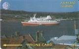TARJETA DE  FALKLAND ISLANDS DE UN BARCO (SHIP)  2CWFB - Falkland Islands