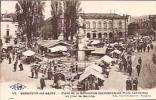 Besançon-les-Bains 19: Place De La Révolution Un Jour De Marché 1928 - Besancon