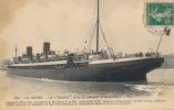 """( CPA BATEAUX )  LE HAVRE  /  """" LA TOURAINE """", De La Cie Générale Transatlantique  - - Steamers"""