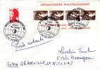 PNU 2217+2184x4  Philexfrance Granville St Nicolas Poste Restante Tarif .Voyagé - 1961-....