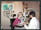 """Germany ,Allemagne 1986 Mi. Nr.1274 Maximumcart """"Handwerksberufe: Augenoptiker,Jugendmarke """" 1 MC Used - Geneeskunde"""