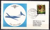 First Flight, Erstflug, SAS DC-9, Beirut - Prag 1972 (59430) - Avions