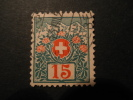 Schweiz Portomarken 1910 Michel 33 (20%) * - Strafportzegels