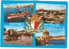 Greetings From Malta, Unused Postcard [10381] - Malta