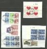 DENMARK Dänemark Danmark 3 Briefausschnitte Mit 4-Blöcke O - Danemark