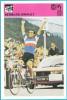 BERNARD HINAULT France - Yugoslav Vintage Card Svijet Sporta * LARGE SIZE * Cycling Cyclisme Radsport Radfahren Ciclismo - Cycling