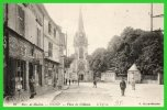 24-Environs De Meulan-VIGNY-Place Du Château-L'Eglise (recto Verso) - Vigny