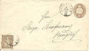 1870 Tüblibrief Mit Zusatzfrankatur Von Aarwangen Nach Burgdorf - Stamped Stationery