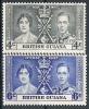 Guyane N° YVERT 160/61 NEUF * - British Guiana (...-1966)