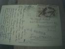 Postcard Used Stamped Franked Argentina Congress 1968 Franked 2 Stamps - Argentina