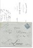69-rhone Givors Lettre Publicitaire  Toussaint Roche Commerce De Bois  Pour La Louvese Ardeche  14 02 1883 + Courrier - Marcophilie (Lettres)