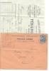26 Drome Valence Lettre Publicitaire  Pérignon Freres Quincaillerie Ferr Pour La Louvese Ardeche 25/08/1882  + Courrier - Marcophilie (Lettres)