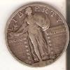 MONEDA  DE PLATA DE ESTADOS UNIDOS DE 1 QUARTER DEL AÑO 1924  (COIN) SILVER-ARGENT - 1916-1930: Standing Liberty (Libertà In Piedi)