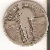 MONEDA  DE PLATA DE ESTADOS UNIDOS DE 1 QUARTER DEL AÑO 1925  (COIN) SILVER-ARGENT - 1916-1930: Standing Liberty (Libertà In Piedi)