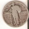 MONEDA  DE PLATA DE ESTADOS UNIDOS DE 1 QUARTER DEL AÑO 1929  (COIN) SILVER-ARGENT - 1916-1930: Standing Liberty (Libertà In Piedi)